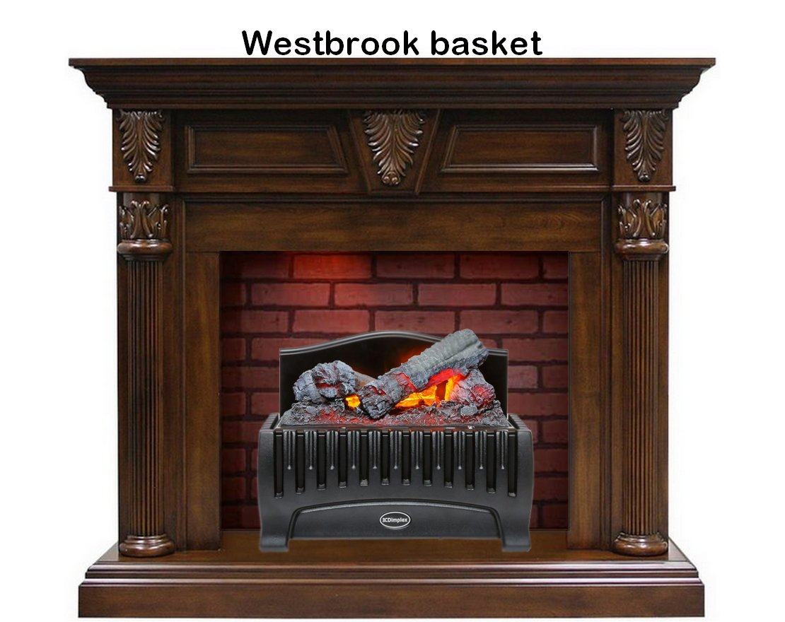 Электрокамин Sheffield Westbrook basket